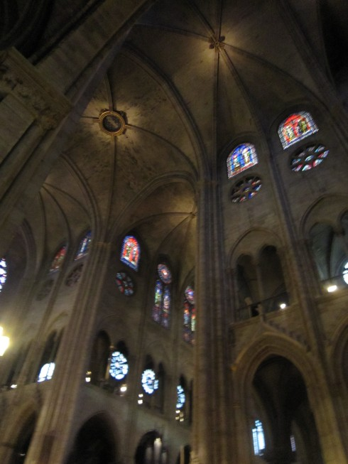 Inside the Cathedral...