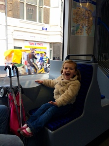 This totally sums up Neve's thoughts on train riding...