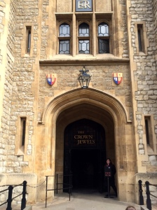 Entrance to the Crown Jewels. So beautiful. But no pictures were allowed inside :(