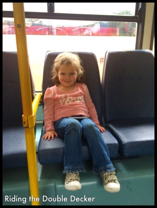 Neve loved the buses, too!
