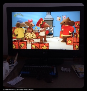 Told ya! RastaMouse is from Jamaica so he has a terrific accent and knows all the Bob Marley tunes :)