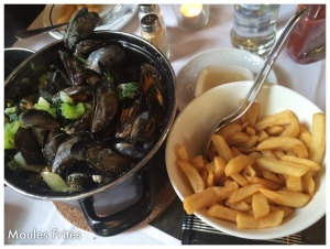 National dish- Mussels and Fries...