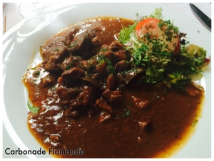 National Dish- Similar to beef stew, but made with dark beer...