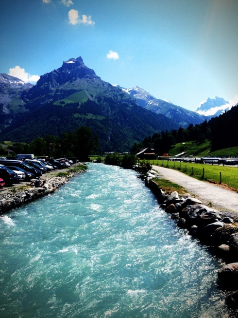 Something about all Swiss water makes it the most awesome shade of greyish blue.